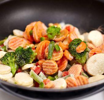 Diepvries groenten